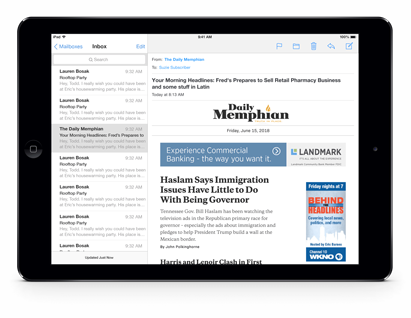 Get The Daily Memphian Email Edition
